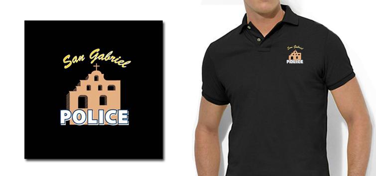 San Gabriel Police Department Logo
