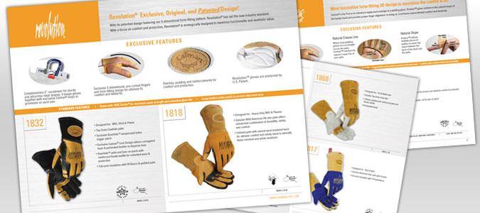 Caiman Gloves Brochure