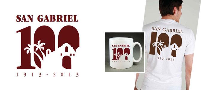 San Gabriel 100th Logo