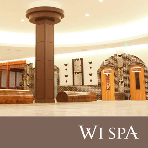 Wi spa brochure and gift card design for 24 hour nail salon los angeles