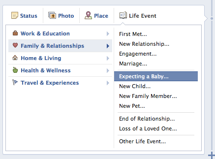 Life Events Facebook Advertising