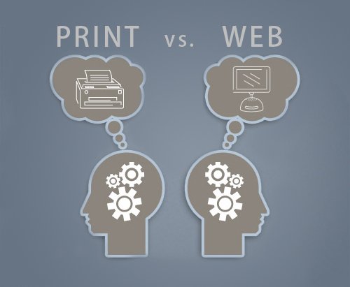 Print vs. Web