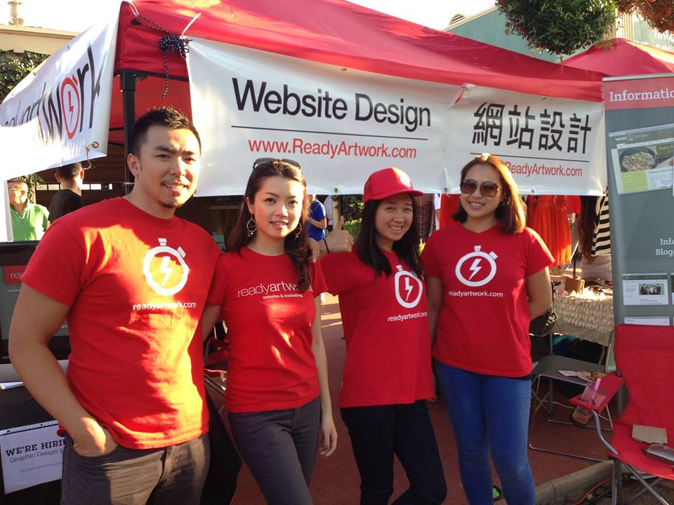 Ready Artwork Website Design at 626 Night Market