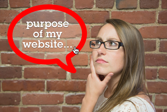 What is the purpose of your website and are you achieving that now?