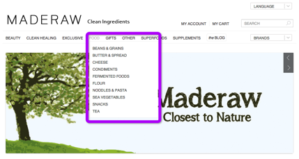 Maderaw Example of Product Purchase