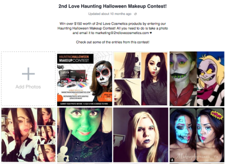 Facebook Halloween Photo Contest