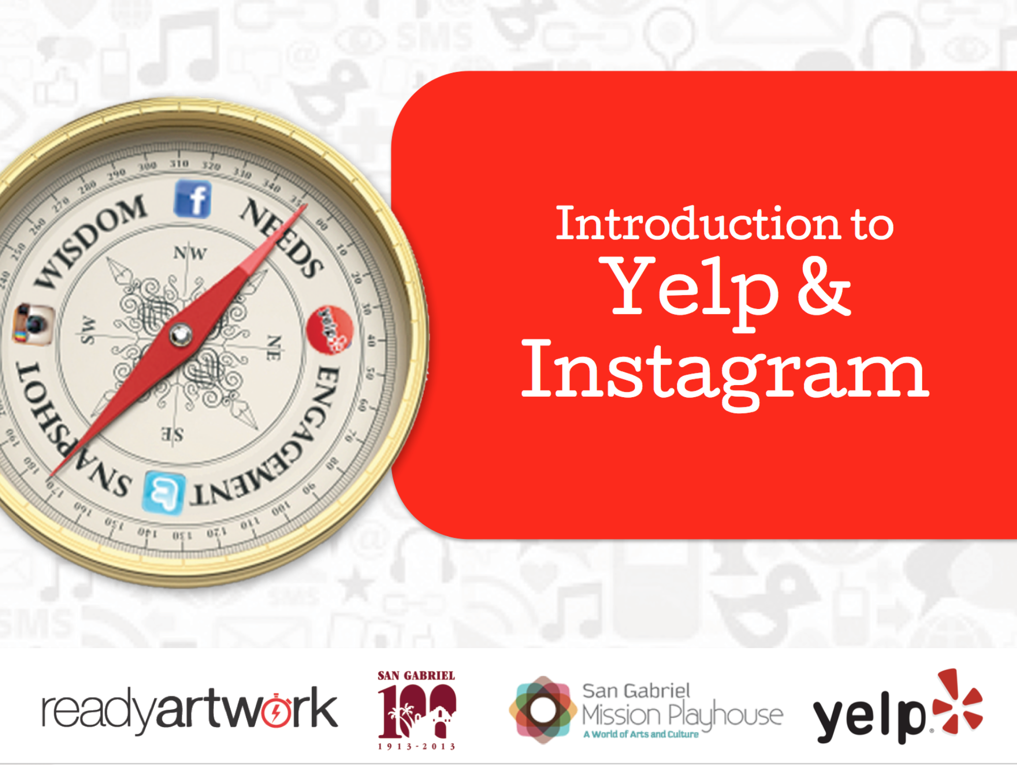 Introduction to Yelp and Instagram Workshop