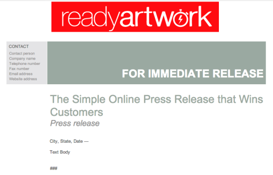 The Simple Online Press Release That Wins Customers