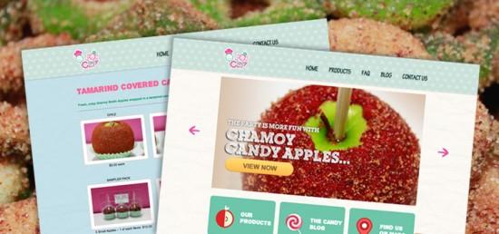 candychef informational website