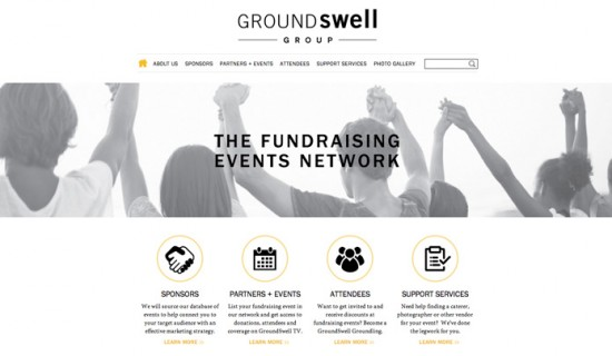 groundswell informational website