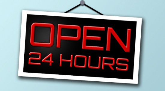 business open 24 hours