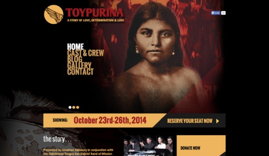 Toypurina Stage Show