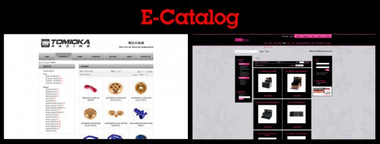 e-catalog website examples