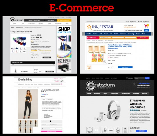 e-commerce website examples