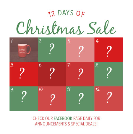 12 days of christmas giveaways on facebook