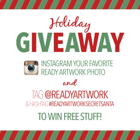 holiday social media giveaway