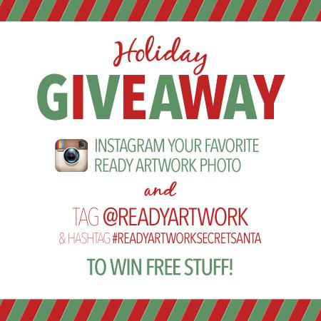 holiday social media giveaway