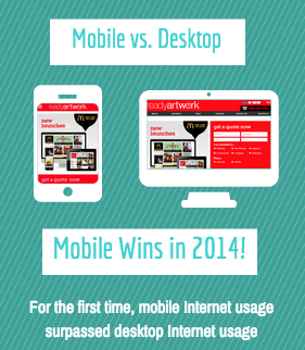 mobile usage graphic vs desktop