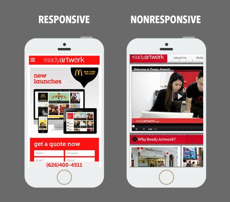 responsive vs non-responsive