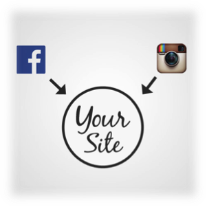 generate website traffic with social media