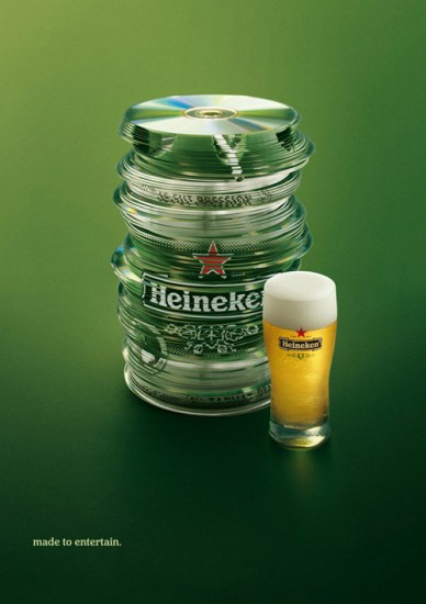 Heineken Ad Made to Entertain