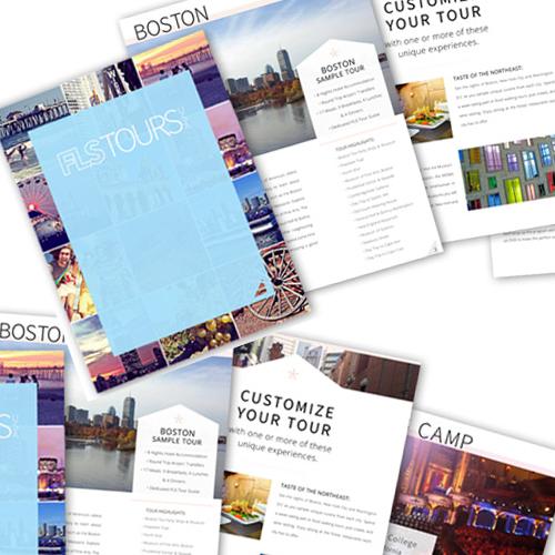 FLS Tours Brochure Design