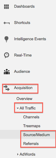 Google Analytics Basics Traffic