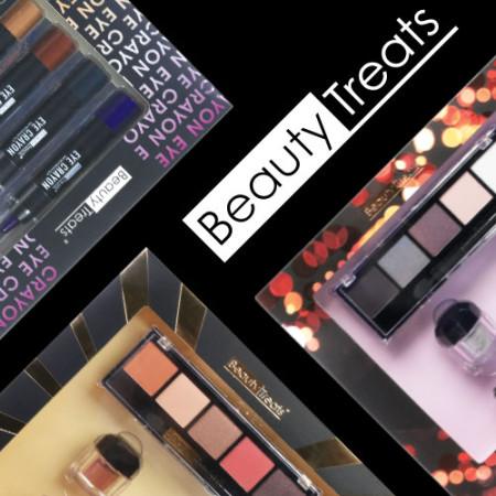 beauty treats packaging design