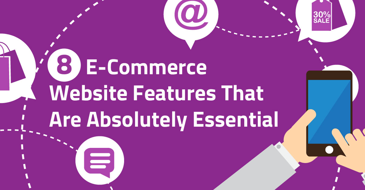 8 absolutely essential e commerce website features for E commerce websites