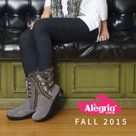 Alegria fall catalog design