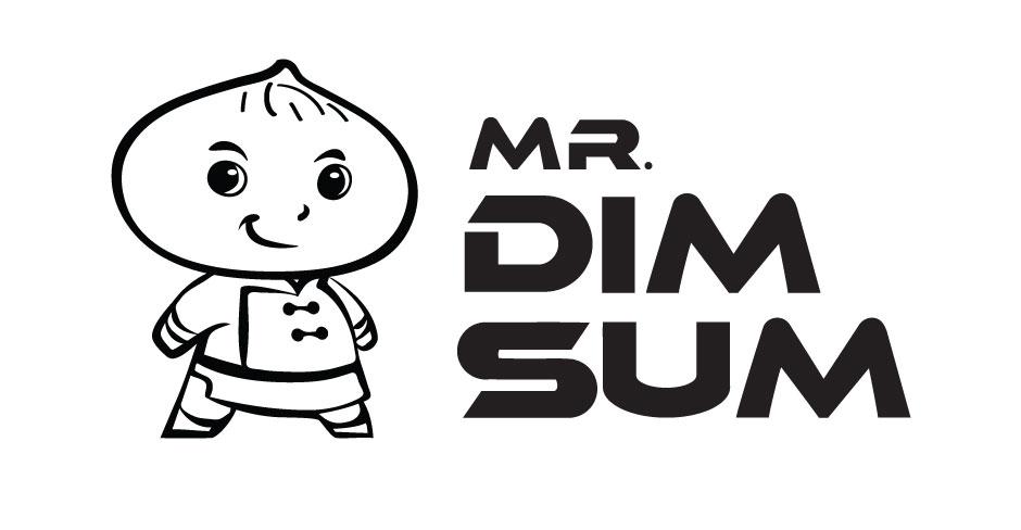 Mr. Dim Sum Logo Design