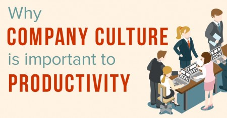 why company culture is so important to productivity
