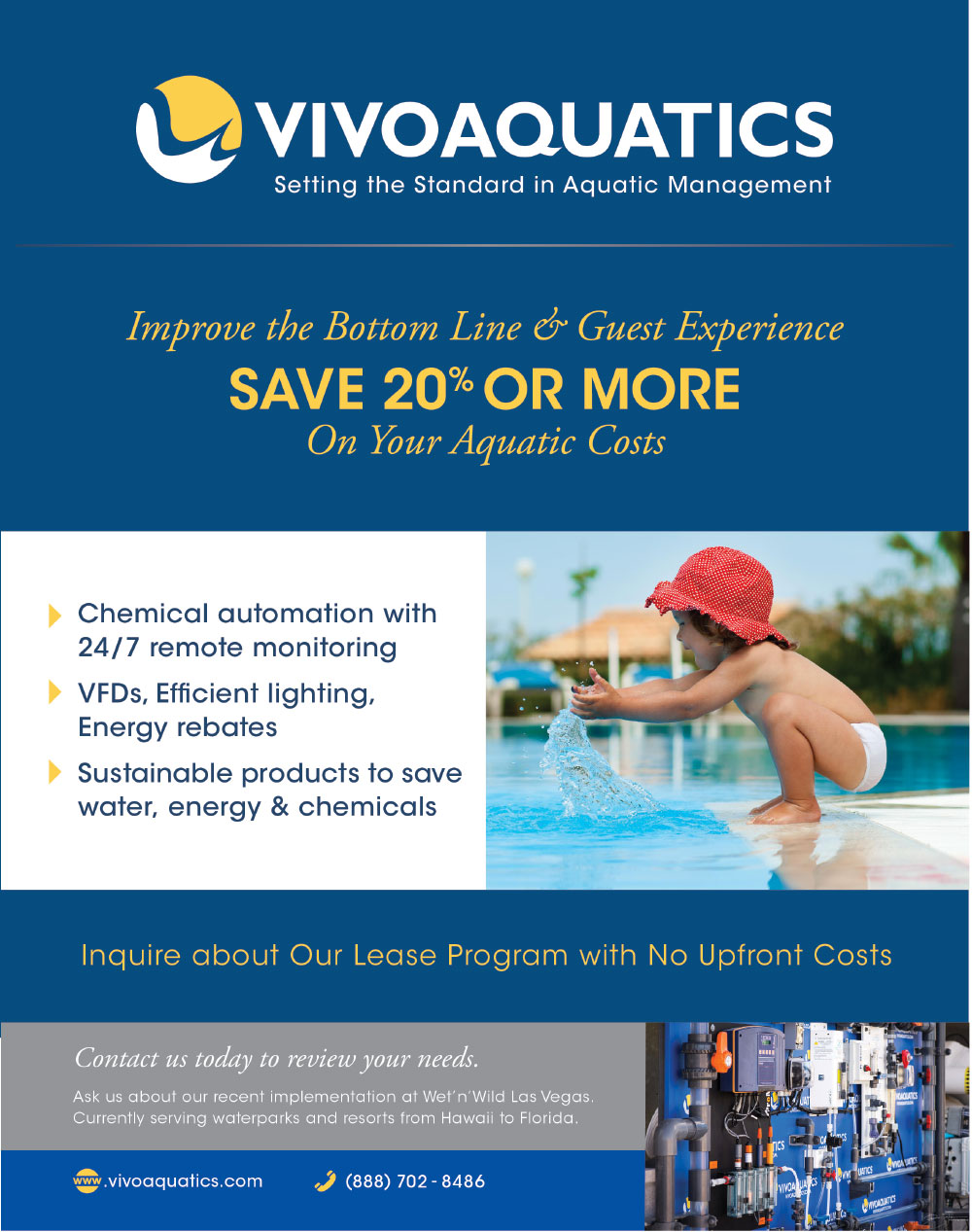 Vivo Aquatics Trade Magazine Advertisement