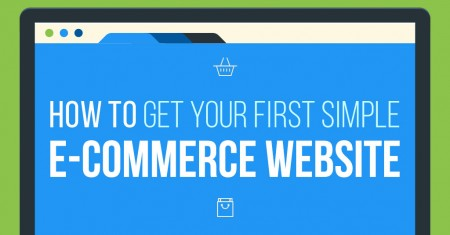 how to get your first simple e-commerce website