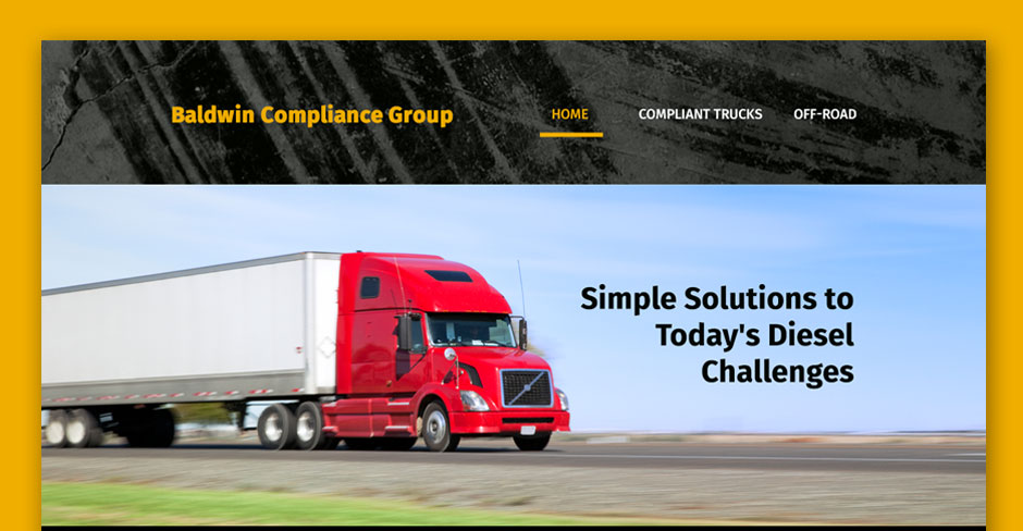 Baldwin Compliance Group Website Design