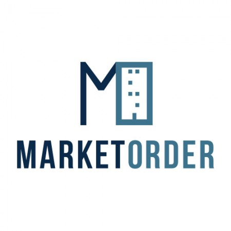 market order logo design