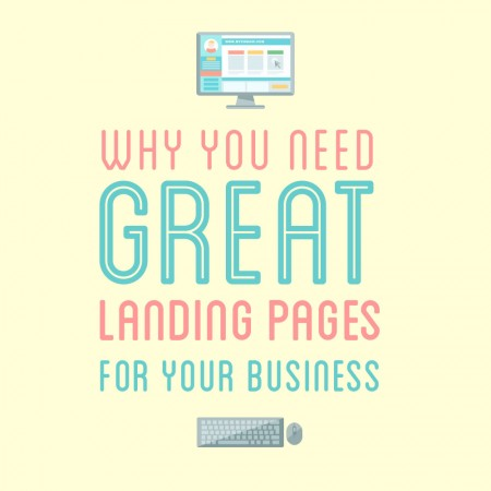 great landing pages for your business