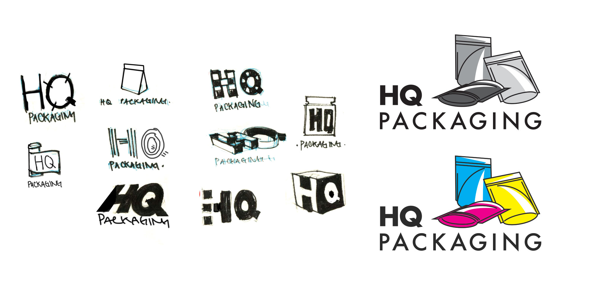 HQ Packaging Logo Design