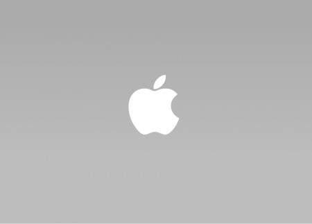 apple logo - negative space logos