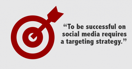 social media launch targeting
