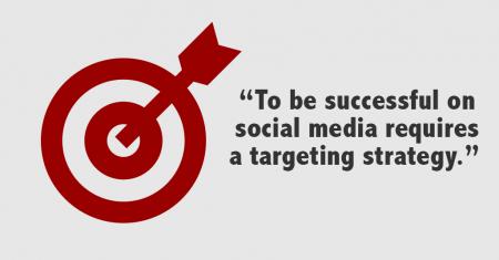 social media launch targeting