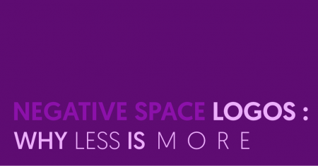 negative space logos - why less is more