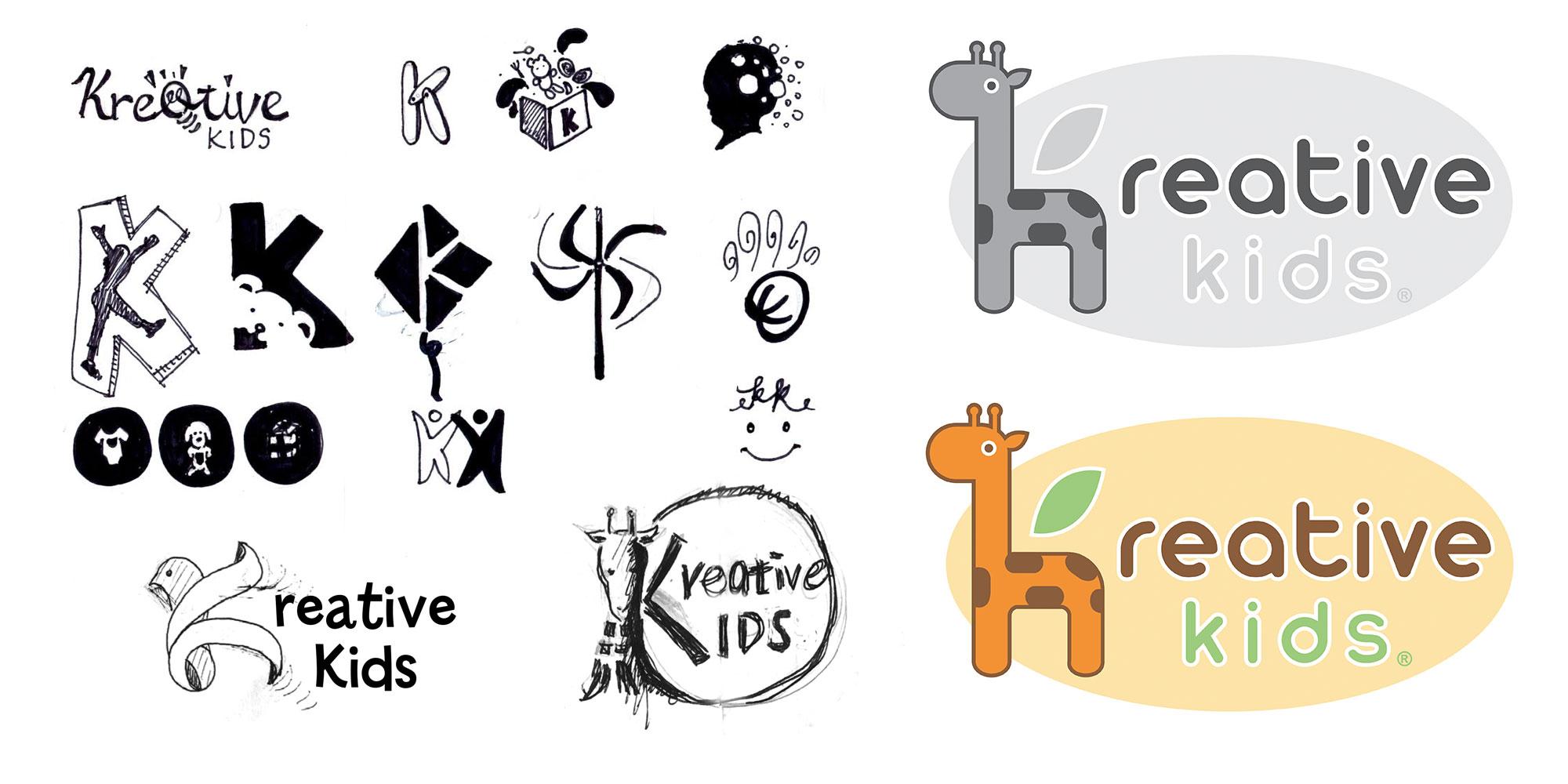 Kreative Kids Logo Design
