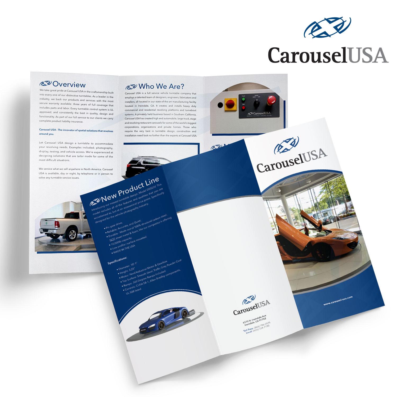 Carousel USA Trifold Brochure
