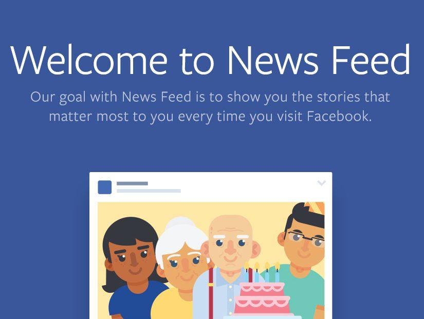facebook newsfeed change