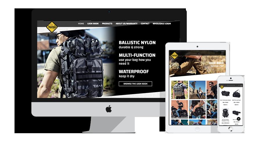 Magforce Website Design