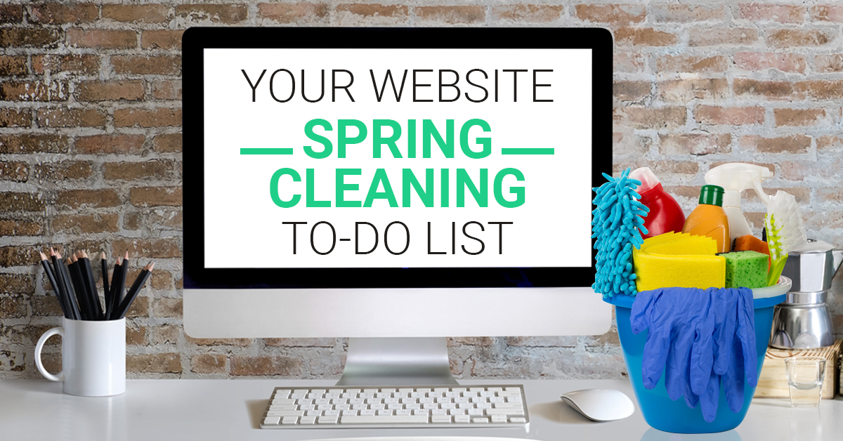 ultimate website spring cleaning to do list